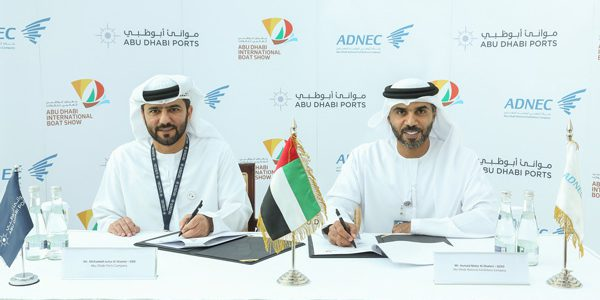 ADNEC signs sponsorship agreement with Abu Dhabi Ports to launch pioneering edition of Abu Dhabi International Boat Show