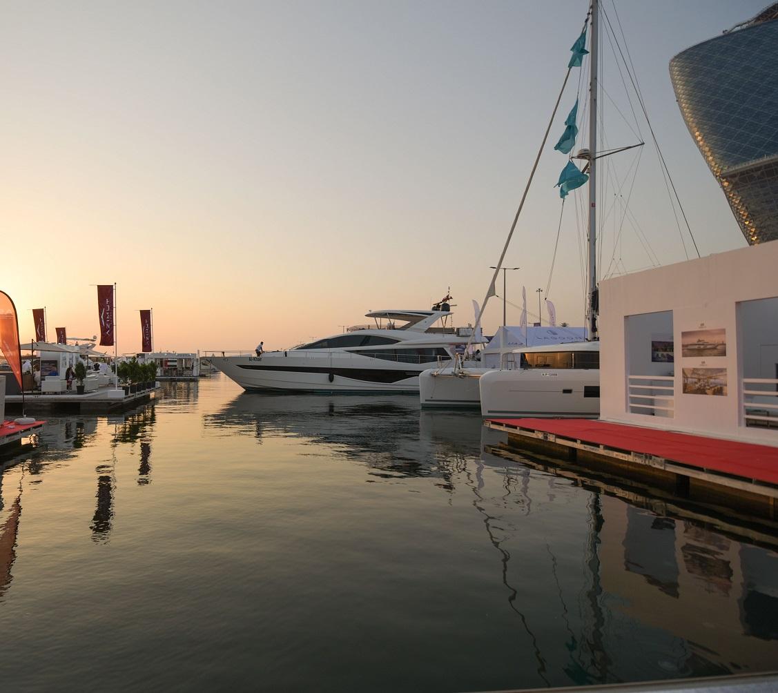 """""""معرض أبوظبي الدولي للقوارب 2018"""" يشهد إطلاق حصري لقوارب فاخرة للمرة الأولى عالمياً"""